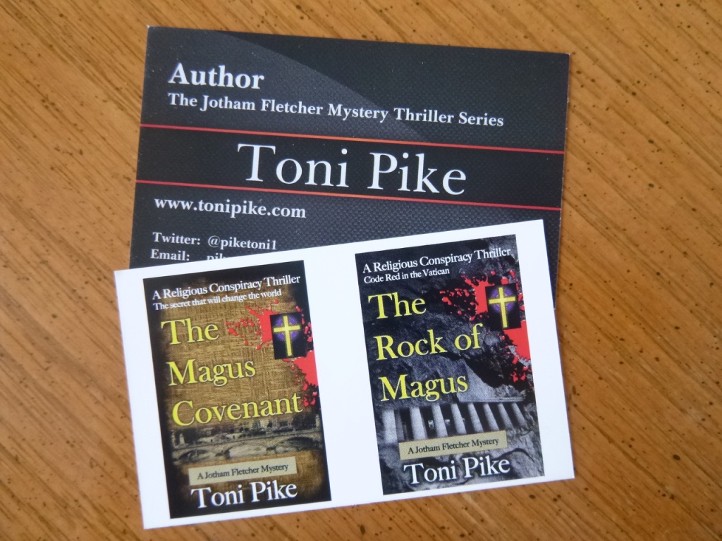 Why Authors Need a Business Card – Toni Pike